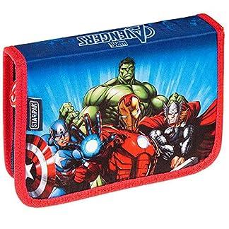 Starpak Avengers – Estuche escolar infantil (21 x 13 x 4 cm), diseño de Los Vengadores