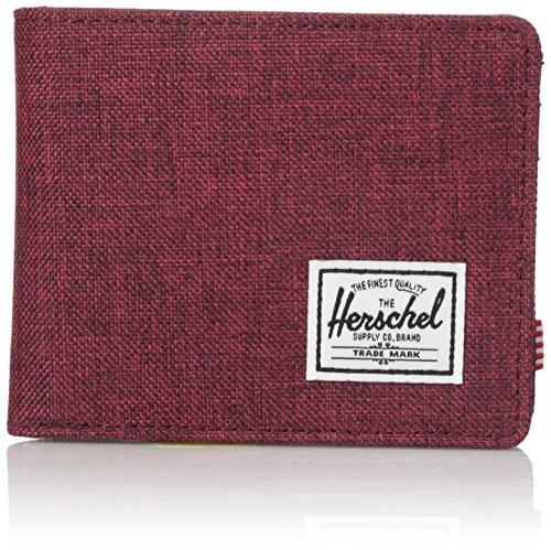 Herschel Roy Plus Coin RFID Wallet Winetasting Crosshatch