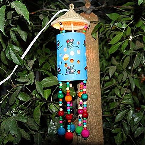 Kronleuchter Kunsthandwerk Home Tür hängende Dekoration Streicher und Ornamente Messing Glocke Wind Chime für Shop Flur und Garten gut Glück für Hochzeit Birthay Mutter- und Vatertag Geschenk