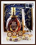 Geschenk Dimple Golden Selection Whisky + Flaschenportionierer + 10 Edel Schokoladen von DreiMeister & DaJa + 4 Whisky Fudge kostenloser Versand