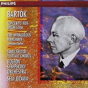 Bartòk-Concerto P.Orch.-le Mandarin Merveilleux-Ozawa-Bost.S Orchestra