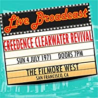 Live Broadcast 4th July 1971 The Filmore West