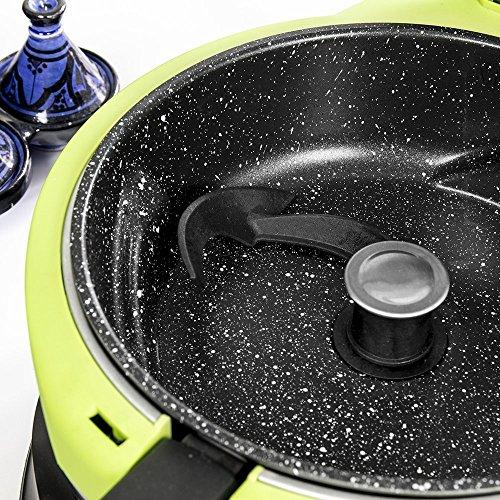 Cecotec Freidora sin aceite multifunción TurboCecofry 4D. Sistema 4D, pala automática, revestimiento de piedra. 8 programas preconfigurados, temperatura de 100 a 240ºC y tiempo de 5 a 90 minutos