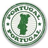 2 x 15cm/150 mm Portugal Autocollant de fenêtre en verre Voiture Van Locations #4586