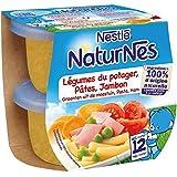 Nestlé naturnes leg du potager carotte pâtes jambon 2 x 200g dès 12 mois - ( Prix Unitaire ) - Envoi Rapide Et...