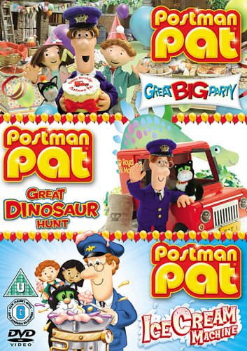 Image of Postman Pat: Great Big Party/Great Dinosaur Hunt/The Ice Cream [DVD]