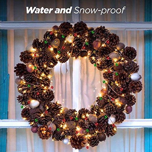 Weihnachtsdeko Lichter Innen.Led Lichterkette Weihnachten Melivent 3m 30glocken F