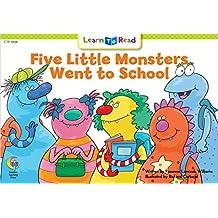 Five Little Monster Went To School