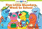 Five Little Monster Went To School (Social Studies Learn to Read)