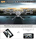 Walkera QR Y100 5.8Ghz 6-Axis FPV Wifi RC Quadcopter Aircraft Hexcopter UFO HD Camera iOS Android Phone Control NO Transmitter
