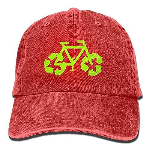 Fashion Cotton Denim Baseball Recycle Bike Classic Dad Hat Adjustable 08788