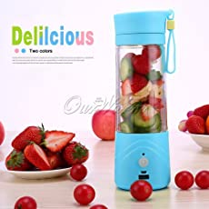 Electric Blender Bottle Wireless USB Rechargeable Juice Cup