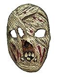 Halloween costume de fête carnaval masque de momie de latex d'horreur pour adultes