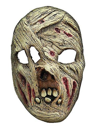 Halloween Karneval Party Kostüm Mumie Maske des Grauens aus Latex für Erwachsene (Maske Mumie Kostüm)