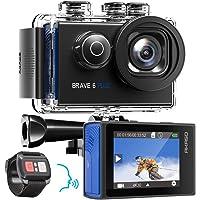 AKASO Action Cam Natives 4K 20MP Action Kamera WiFi 40M Unterwasserkamera Wasserdicht EIS Touchscreen mit 8X Zoom…