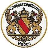 AUFNÄHER - Großherzogthum Baden - Gr. ca. 6cm (00484) Stick Patches Applikation