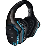 Logitech G933 Artemis Spectrum Cuffie Gaming Wireless, Cuffie DTS: Audio Surround X 7.1, Driver PRO-G da 40 mm, 2,4 GHz, Port