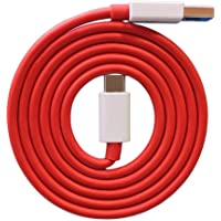 MYVN Compatible Dash Cable/Warp Type C Charging Charger Cable Data Sync Fast Charging Cable Compatible for OnePlus 8,8…