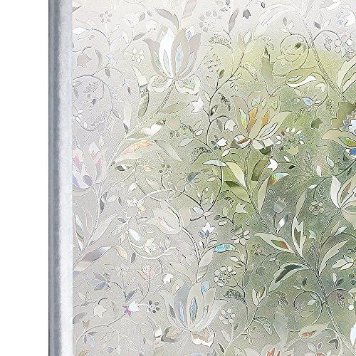 Homein Fensterfolie Blumen Geblümt im Test