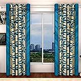 Vivek Homesaaz Aqua Polyester Classic Al...