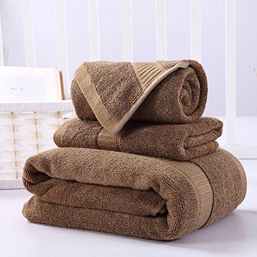 fibra di bambù asciugamani tre insiemi di spessore assorbimento acqua naturale ( Colore : 7 ) 1