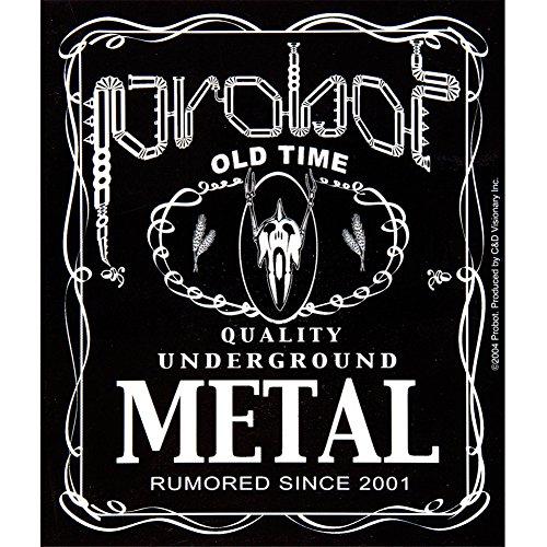 Probot–Metall Label Aufkleber (Metall-womens Tee)