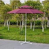 WYM Große Outdoor Sonnenschirme Sonnenschirm Dach Sonnenschirm Sonnenschirm Top Schirmschirme Regenschirme