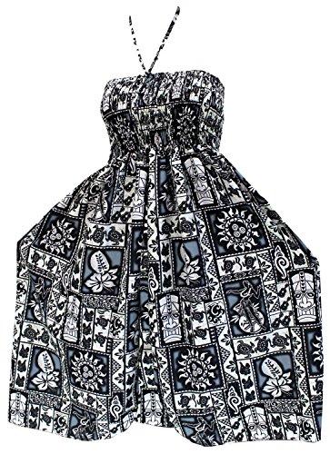 Maxi-por-encima-de-la-rodilla-encubrir-tubo-corto-vestido-de-cuello-halter-ropa-de-playa-traje-de-bao-traje-de-bao-negro