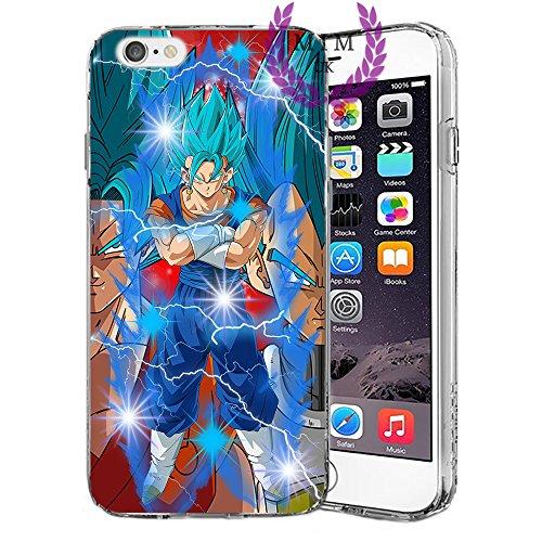 Custodie iPhone per Dragon Ball Z Super GT Case Cover - Design Ultimi Unique - Tutti i modelli iPhone - Brand New - Alta Qualità - Tournament Of Power - Goku Black Rose - Goku Blue - Gohan - Jiren - V SSB Potara
