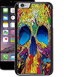ColourCraft Colourful Skull Design Back Case Cover for APPLE IPHONE 6S