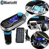 REALMAX® Bluetooth Lettore MP3Trasmettitore FM Vivavoce Car Kit caricabatteria per iPhone, HTC, Samsung, Blackberry, Sony, Nokia, LG