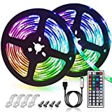 GLIME LED Streifen 6M Led Stripes RGB 5050SMD LED...
