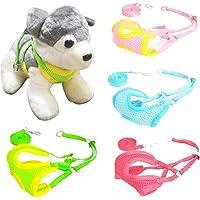 Kiki N Pooch Padded Vest Harness Training Collar for Small Puppy/Kitten/Cat