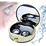 Boîte de lentilles de contact, Mini porte-lentilles de contact Soins des yeux Ensemble de lentilles mignon Belle boîte de kit