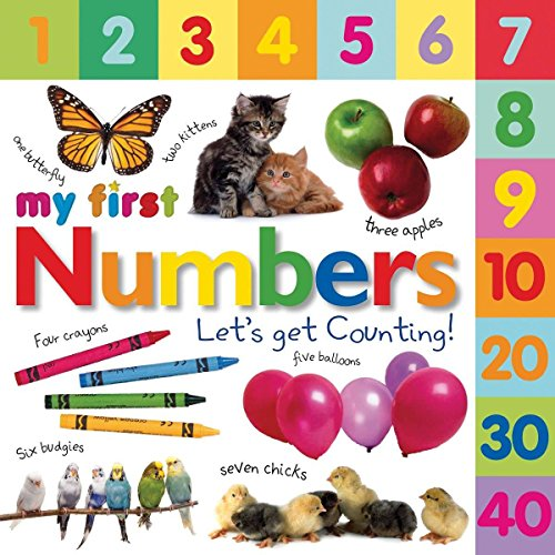 Tabbed Board Books: My First Numbers: Let's Get Counting! (DK My First Board Books) por Dk