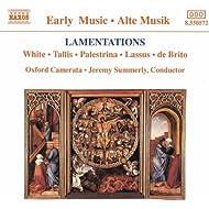 Lamentations (Oxford Camerata)