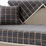 lovecover Sofa möbel protector für haustiere kinder Ganze saison Anti-rutsch Schnittsofa werfen abdeckung pad Sessel schoner L-form Couch abdeckung-1 stück-A 35x47inch(90x120cm)