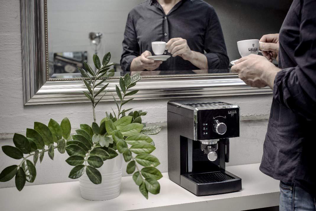 Gaggia Viva Style Macchina da Caffè Espresso Manuale, per Macinato e Cialde, RI8433/11 3 spesavip