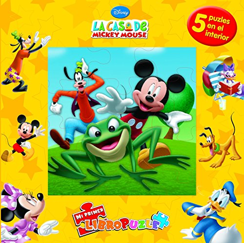 La casa de Mickey Mouse. Mi primer libropuzle por Disney