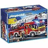 PLAYMOBIL - Feuerwehr-Leiterfahrzeug mit Licht und Sound (5362)