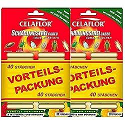 Celaflor Schädlingsfrei CAREO Combi-Stäbchen 80 Stück Vorteilspackung (2× 40 Stück)