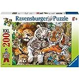 Ravensburger 12721 - Ravensburger Big Cat Nap Puzzle XXL, 200 Teile