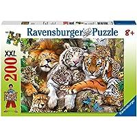 Ravensburger - 12721 4 - Puzzle 200 Pezzi - Grandi Felini
