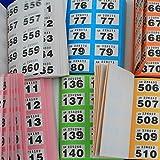 Lose, Gewinnlose Garderobenmarken für Tombola Garderoben und Veranstaltungen im Block nicht Röllchenlose, Stück Office Amazon:6 Stück (1x6 Farben)