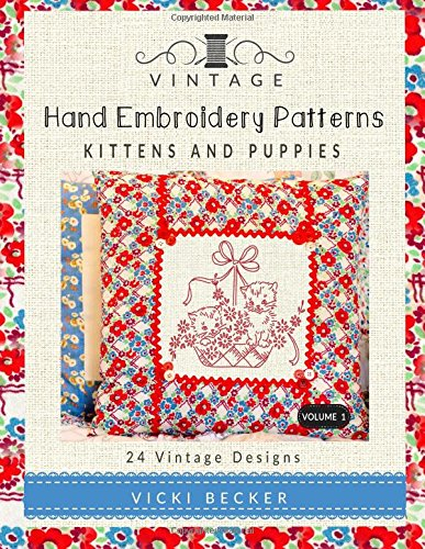 Vintage Hand Embroidery Patterns Authentic