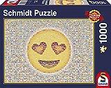 Schmidt Spiele 58220 - Emoticon, 1.000 Teile, Klassische Puzzle