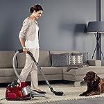 AEG LX7-2-CR-A Staubsauger ohne Beutel (Ideal für Haustierbesitzer, Inkl. Zusatzdüsen und Spezialdüsen-Set für Tierhaare…