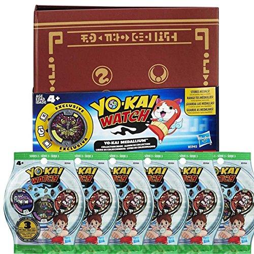 Medallium Yo-Kai Watch + 6 sachets de 3 médailles [Yo-Kai Watch]