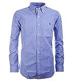 Polo Ralph Lauren Herren Hemd Slim fit blue/white Größe L