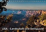 USA - Landschaft und Sehnsucht (Tischkalender 2017 DIN A5 quer): Faszinierende Eindrücke aus dem wunderbaren Südwesten der USA. (Monatskalender, 14 Seiten ) (CALVENDO Orte)